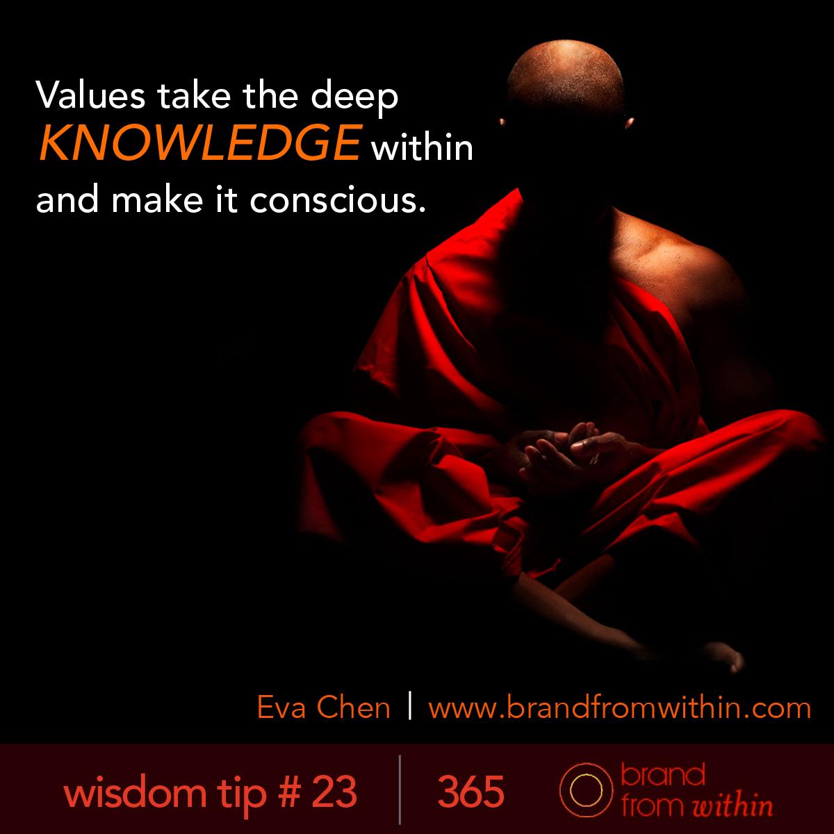 DAY 23 WISDOM TIP