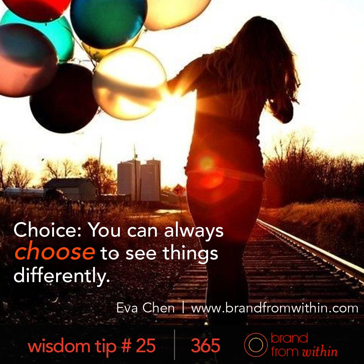 DAY 25 WISDOM TIP