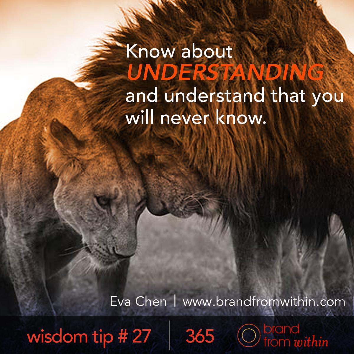 DAY 27 WISDOM TIP